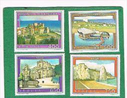 ITALIA REPUBBLICA - UNIF. 1848.1851 - 1988 TURISTICA  - NUOVI **(MINT) - 1981-90: Mint/hinged