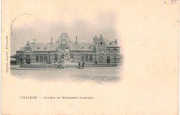 (BF138) Vilvorde Station Et Monument Portaels - Vilvoorde