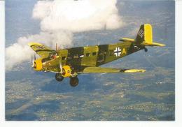 Le Junkers Allemand, Durant La Seconde Guerre Mondiale, Carte Postale De Madrid. - War 1939-45
