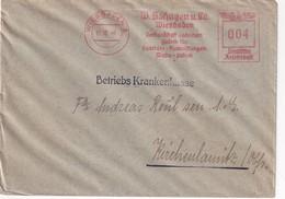 ALLEMAGNE 1940 LETTRE EMA DE WIESBADEN - Germany