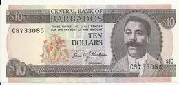 BARBADES 10 DOLLARS ND1973 XF+ P 33 - Barbados