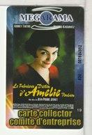 CINÉCARTE - CARTE CINÉMA - MÉGARAMA N° 19 - Kinokarten