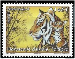 POLYNESIE - Année Du Tigre - Ungebraucht