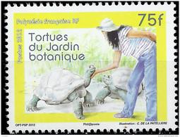 POLYNESIE - Tortues Du Jardin Botanique - Ungebraucht