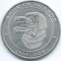 Uganda - 2004 - 100 Lingshshil - KM198 - Dog - Oeganda