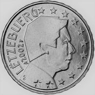 MONNAIE 10 Cent 2002 LUXEMBOURG  Euro Fautée Non Cuivrée Etat Superbe - Abarten Und Kuriositäten