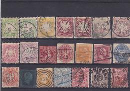 Lotje Oud Duitsland  Kaart A 811 - Collections (sans Albums)