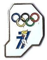 JO ALBERTVILLE 92 - JO63 - COMITE DEPARTEMENTAL - 77 - Verso : SM - Olympic Games