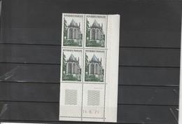 FRANCE Sainte Chapelle De Riom Coin Daté 1971  N° 1683 ** - 1970-1979