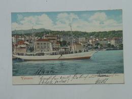 Brod 274 Ship Vapore Dampfer Lloyd S.S. SS Piroschafo 1904 Volosca - Steamers