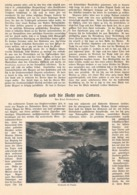 535 Ragusa Cattaro Kroatien Dalmatien Budua Artikel Mit 9 Bildern 1911 !! - Unclassified