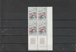 FRANCE Gorges De L'ardèche Coin Daté 1971  N° 1687 ** - 1970-1979