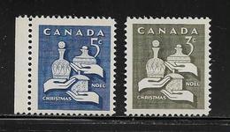 CANADA  ( AMCAN - 52 )  1965  N° YVERT ET TELLIER  N° 367/368   N** - 1952-.... Règne D'Elizabeth II
