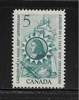 CANADA  ( AMCAN - 54 )  1966  N° YVERT ET TELLIER  N° 370   N** - 1952-.... Règne D'Elizabeth II