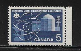 CANADA  ( AMCAN - 55 )  1966  N° YVERT ET TELLIER  N° 373   N** - 1952-.... Règne D'Elizabeth II