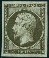 ** N°11 1c Olive, Pièce De Luxe - TB - 1853-1860 Napoléon III.
