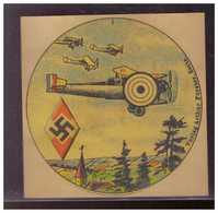DT- Reich (009451) Propaganda 6 Verschiedene Hitlerjugend (HJ) Schießscheiben Ungebraucht Extrem Selten!! - Germany