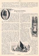 543 Zigeuner Zigeunerleben Artikel Mit 9 Bilder 1906 !! - Autres