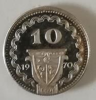 Gettone In Argento Da 10 Franchi Svizzeri - Produzione Casinò Di Campione - 1970 - Casino