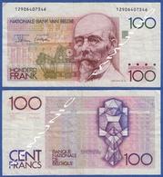 BELGIUM BELGIE BELGIQUE 100 Francs 1981 HENDRIK BEYAERT - 100 Franchi