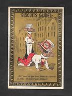 Chromo Doréchromo Doré Lith BOGNARD Biscuits OLIBET  ''oh Por Vu Que Mes Boites..''  7,5x11 OTTIMO STATO - Confectionery & Biscuits