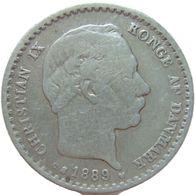 LaZooRo: Denmark 10 Ore 1889 VF - Silver - Danemark