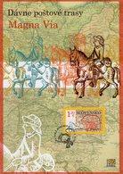 Slovakia - 2020 - Europa CEPT - Ancient Mail Routes – The Magna Via - Special Commemorative Sheet - Slowakische Republik