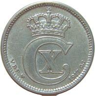 LaZooRo: Denmark 10 Ore 1917 XF - Silver - Danemark