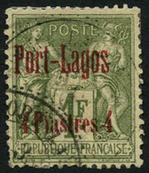 Obl. N°1/6 - TB - Puerto Lagos (1893-1931)