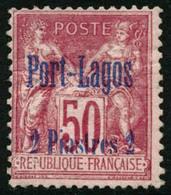 * N°5 2p Sur 50c Rose - TB - Puerto Lagos (1893-1931)