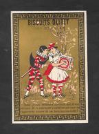 Chromo Doréchromo Doré Lith BOGNARD Biscuits OLIBET ''tenez Je Suis Tellement Contente..''   7,5x11 OTTIMO STATO - Confetteria & Biscotti