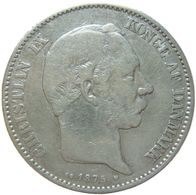 LaZooRo: Denmark 2 Kroner 1875 VF - Silver - Danemark