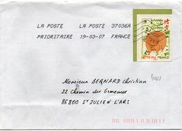 France N° 4001 Y. Et T. La Poste 37036A Flamme Muette Du 19/03/2007 - 1961-....