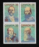 CANADA  ( AMCAN - 79 )  1987  N° YVERT ET TELLIER  N° 1009/1012   N** - 1952-.... Règne D'Elizabeth II