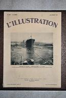 """L'illustration N° 4691 - 28 Janvier 1933 - Le Paquebot """"President-Doumer"""" A La Ciotat ... - Journaux - Quotidiens"""