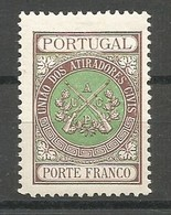 Portugal Franchise Afinsa UACP 2 Riffles Association Mint / MH / * 1900 Signed X 2 - Franchise