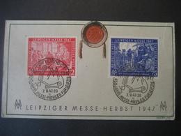 Deutschland- 3.9.47 Leipziger Herbstmesse 1947 - Unclassified