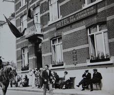 Photo DINANT Carnaval D'été 1936 Hôtel Du Souvenir Attelage Province Namur Meuse - Lieux