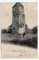 Près Saintes--SAINT ROMAIN DE BENET-1904--La Tour De Pirelongue (ou Pirelonge) -animée....carte Précurseur......à Saisir - Autres Communes