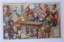 Kaufmannsbilder, Nr.4, Knorr Nahrungsmittelfabriken, Die 7 Schwaben 1910♥(63402) - Kaufmanns- Und Zigarettenbilder