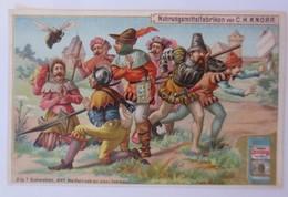 Kaufmannsbilder, Nr.1, Knorr Nahrungsmittelfabriken, Die 7 Schwaben 1910♥(70714) - Kaufmanns- Und Zigarettenbilder