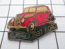 1216c Pin's Pins / Belle Qualité Et TB état !!!! : THEME : AUTOMOBILES / FORD ROUGE DE 1937 - Ford