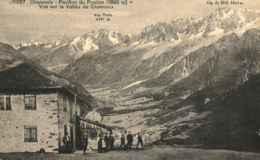 74 - CHAMONIX - Pavillon Du Prarion - Vue Sur La Vallée De Chamonix - Chamonix-Mont-Blanc