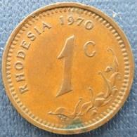 Rhodesia  1 Cent 1970 - Rhodesia