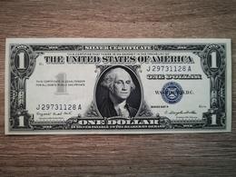 1957-A UNITED STATES SILVER CERTIFICATE $1 (( GEM AUNC )) - Silver Certificates – Títulos Plata (1928-1957)
