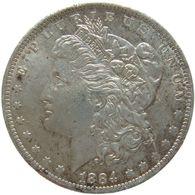 LaZooRo: United States 1 Dollar 1884 O XF / UNC - Silver - Federal Issues