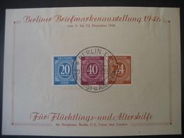 Deutschland Alliierte Besetzung Bizone 1946- BM-Ausstellung Für Flüchtlings- Und Altershilfe Aus Satz MI.Nr, 911-937 - Zone Anglo-Américaine
