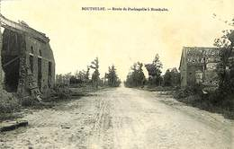 027 394 - CPA - Belgique - Houthulst - Route De Poelcapelle - Houthulst