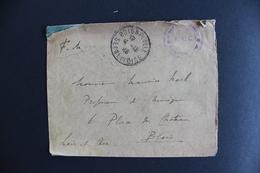 1916 FM  BOIGNEVILLE CAD DU 04/10/1916 POUR BLOIS CAD ARRIVEE DU05/10/1916 EN FRANCHISE MILITAIRE SANS CORRESPONDANCE - Postmark Collection (Covers)