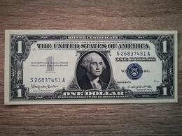 1957-B UNITED STATES SILVER CERTIFICATE $1 (( GEM UNC )) - Silver Certificates – Títulos Plata (1928-1957)